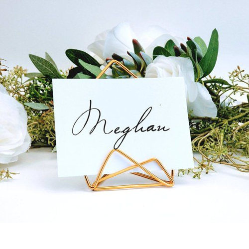 Place card holder Wedding card holder Menu stand